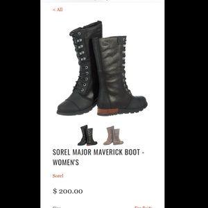 Sorel major maverick boots